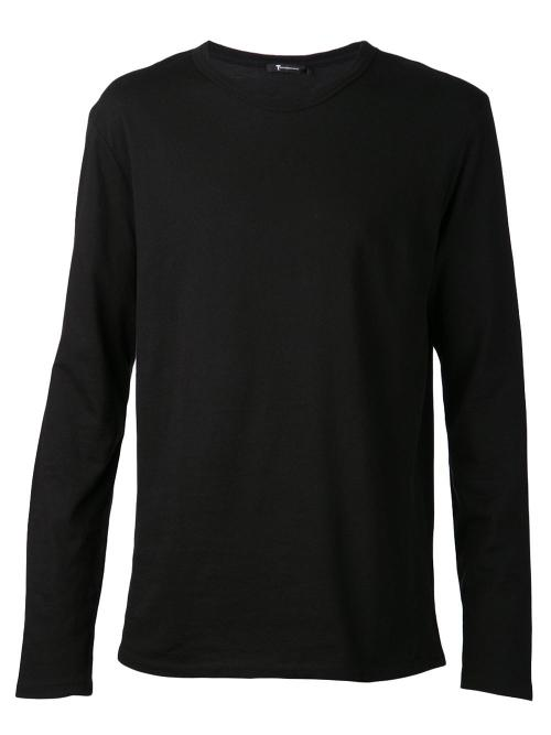 Black Cotton Classic Long Sleeve T-shirt by T By Alexander Wang in The Expendables 3