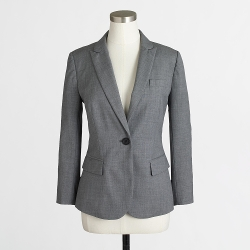 Cropped Suiting Blazer in Wool by Factory in Man of Tai Chi