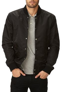 Everyday Bomber Jacket by Forever 21 in What If