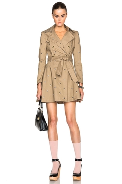 Mackintosh Trench Coat by Red Valentino in The Flash