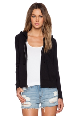 Classic Zip Up Hoodie by James Perse in Jessica Jones