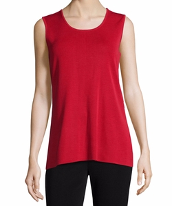 Round-Neck Sleeveless Tank by Toula  in The Flash