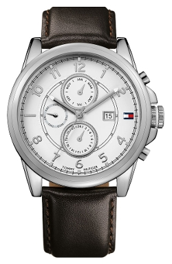 Multi Eye Leather Strap Watch by Tommy Hilfiger in Hitman: Agent 47