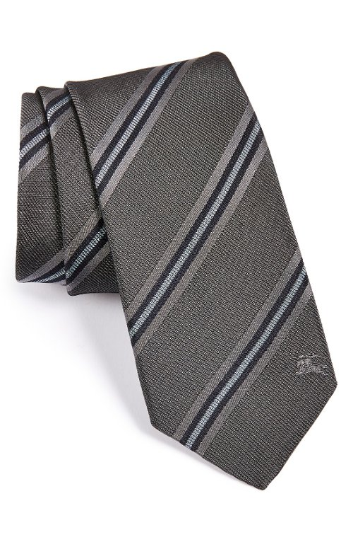 'Earl' Woven Silk Tie by Burberry London in The Town