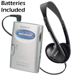 Walkman Compact Portable Lightweight AM/FM Stereo Radio by Sony in St. Vincent