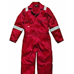 Stripe Workwear Coverall by Dickies in Deepwater Horizon