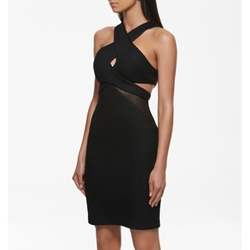 Kendall Mesh Spliced Dress by Forever New in Keeping Up With The Kardashians