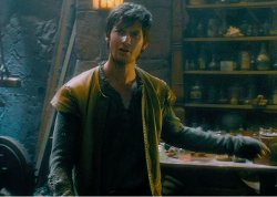 Custom Made Medieval Knit Tunic (Tom Ward) by Jacqueline West (Costume Designer) in Seventh Son