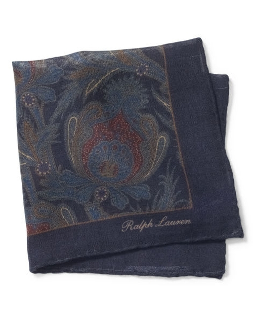 Paisley Pocket Square by Ralph Lauren in Suits - Season 5 Episode 9