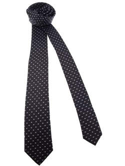 Patterned Silk Tie by Dolce & Gabbana in Suits
