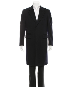 Wool Three-Button Coat by Tom Ford in Suits