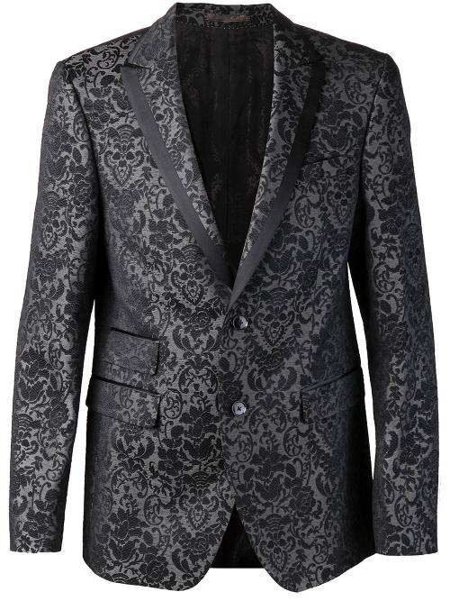 Peaked Lapel Blazer by Sand in Get On Up
