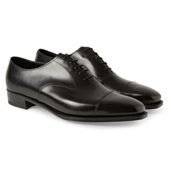 Anthony Bodie Leather Oxford Shoes by George Cleverley in The Man from U.N.C.L.E.