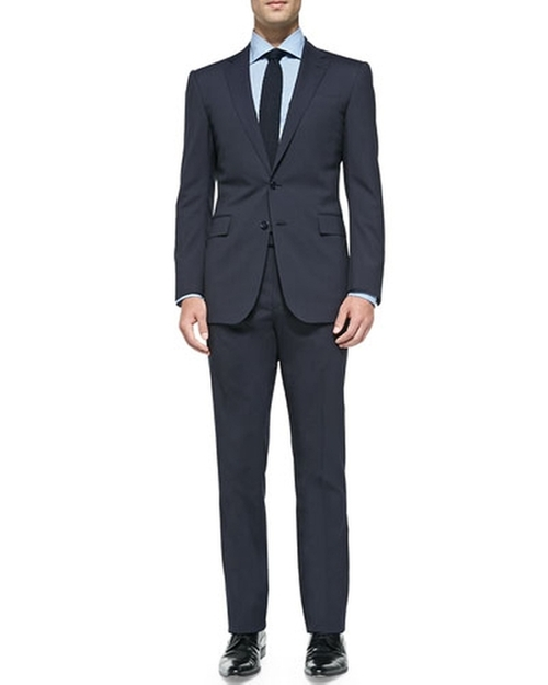 Anthony Track-Stripe Suit by Ralph Lauren Black Label in Suits - Season 5 Episode 4