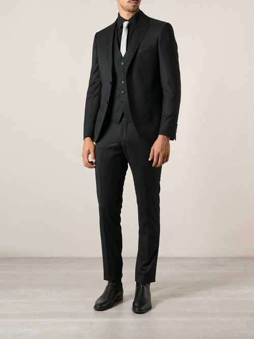 Three Piece Suit by Tagliatore in Focus