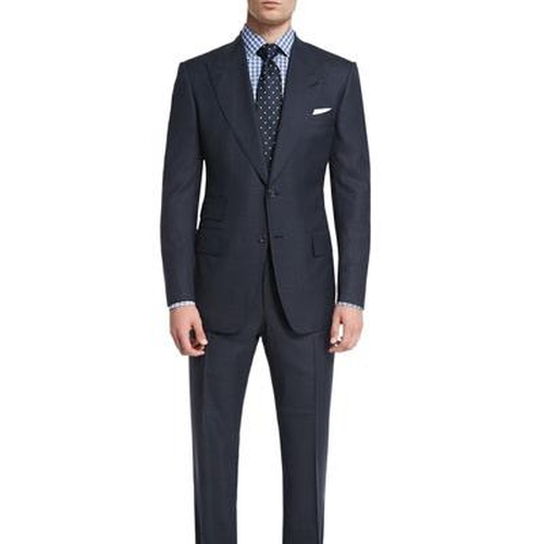 Windsor Base Windowpane Two-Piece Suit by Tom Ford in Suits - Season 5 Episode 10