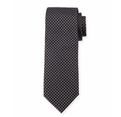 Pindot Silk Tie by Boss Hugo Boss in Suits