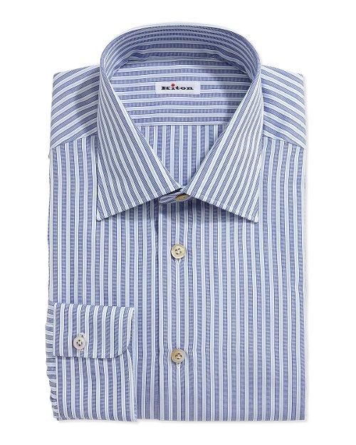 Mixed Stripe Dress Shirt by Kiton in Entourage