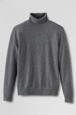 Cashmere Turtleneck Sweater by Lands' End in That Awkward Moment