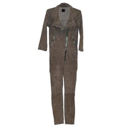 Suede Jumpsuit by RTA Denim in Keeping Up With The Kardashians