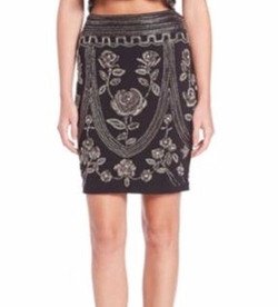 Embellished Pencil Skirt by Haute Hippie in Chelsea