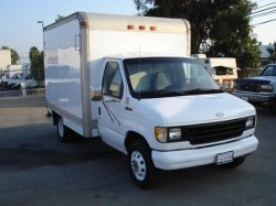 1992 Econoline E350 Box Truck by Ford in The Place Beyond The Pines