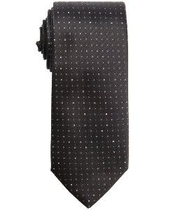 Black And Blue Doted Silk Tie by Prada in John Wick