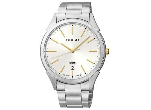 Men's Stainless Steel Bracelet Watch by Seiko in Entourage
