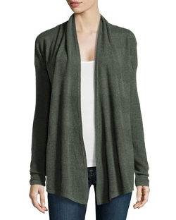 Cashmere Textured Knit Cardigan by Neiman Marcus in Absolutely Anything