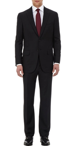 Aquaspider Base S Two-Button Suit by Isaia in The Transporter: Refueled