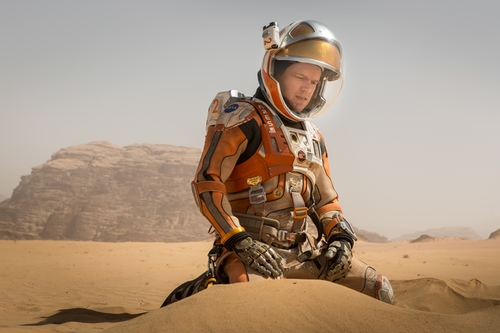 Custom Made Astronaut Suit (Mark) by Janty Yates (Costume Designer) in The Martian
