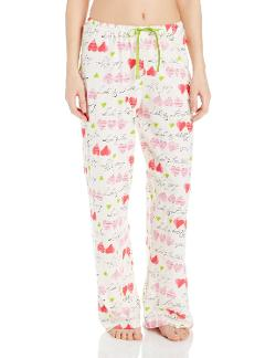 Women's Scripted Love Pant by Hue Sleepwear in Laggies