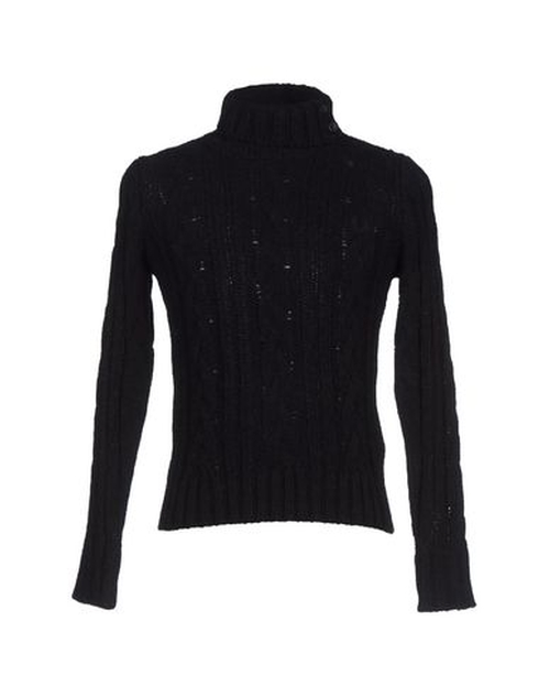Cable Turtleneck Sweater by Fred Perry in Survivor