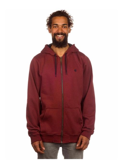 E Hoody Zip Sweatshirt by Etnies in Creed