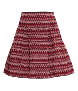 Textured Skirt by H&M in Scream Queens