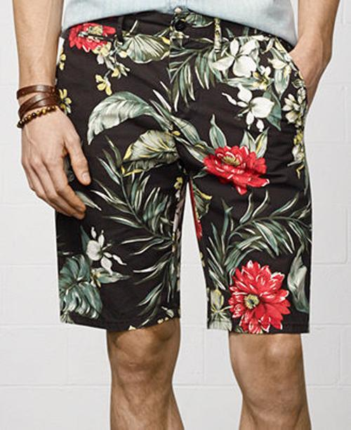 Floral-Print Chino Short by Denim & Supply Ralph Lauren in Transformers: Age of Extinction