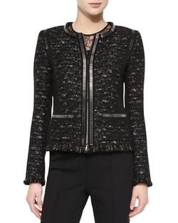 Dondi Zip-Chain Jacket by Escada in The Good Wife