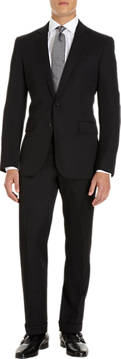 Anthony Two-Button Suit by Ralph Lauren in Quantico