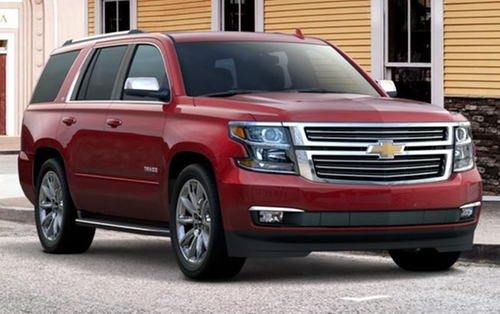 Tahoe SUV by Chevrolet in Midnight Special