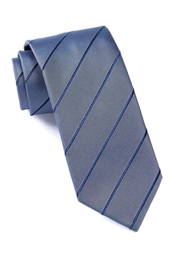 Striped Silk Tie by Hugo Boss in Supergirl