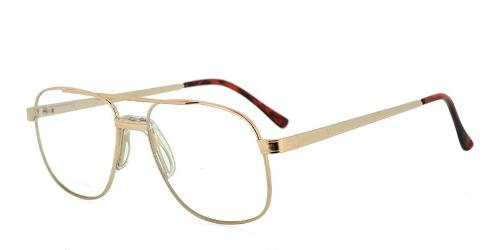 Brutus Gold Eyeglasses by Glasses USA in The Judge