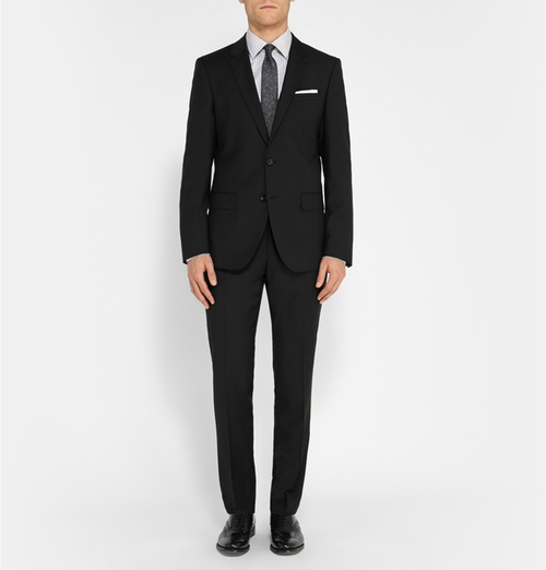 Slim-Fit Virgin Wool Suit by Hugo Boss in The Transporter