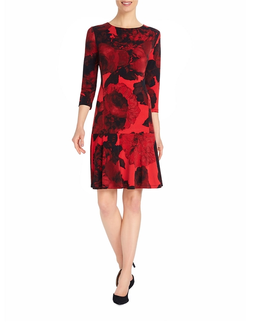 Dropped-Waist Dress by Ellen Tracy in Love the Coopers