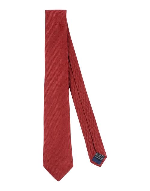 Solid Satin Tie by Lanvin in Black Mass