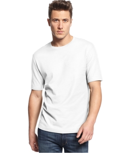 Solid Crew-Neck Performance T-Shirt by Club Room in Vacation
