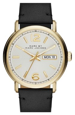 Fergus Leather Strap Watch by Marc by Marc Jacobs in The Best of Me