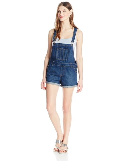 Side and Back Pocket Shortalls by Glamorous in She's Funny That Way