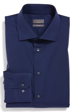 Trim Fit Dress Shirt by Calibrate in Wedding Crashers