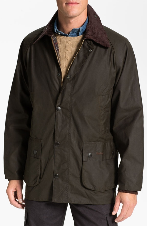 'Bedale' Waxed Cotton Jacket by Barbour in Love the Coopers
