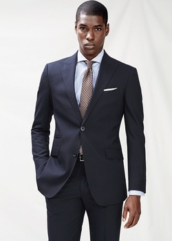 Wool Suit Blazer by Mango in Fifty Shades of Black